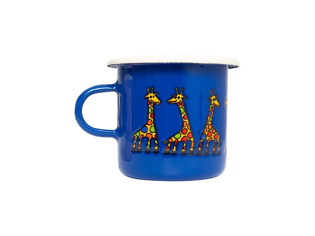 smaltovany espresso hrnek modry žirafa removebg preview