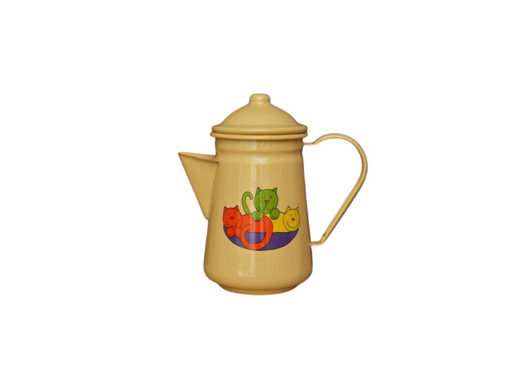 smaltovana konvice na kavu zluta kocka removebg preview