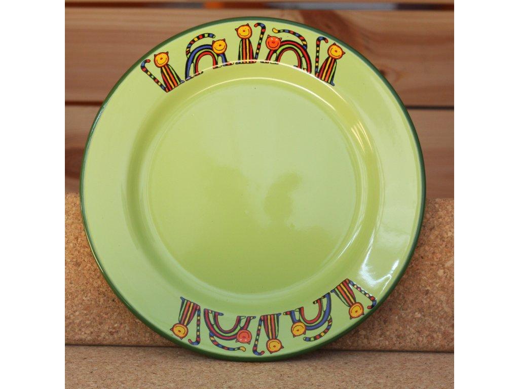 2399 talir zeleny kocka s pruhama