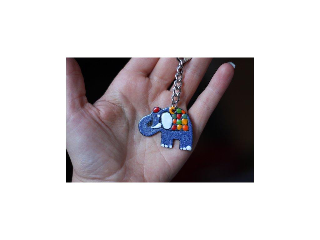Klíčenka - slon
