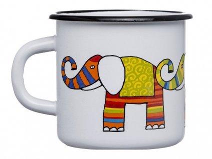 1350 2 hrnek se slonem