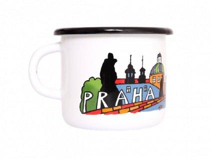 Smaltovaný hrnek Praha removebg preview