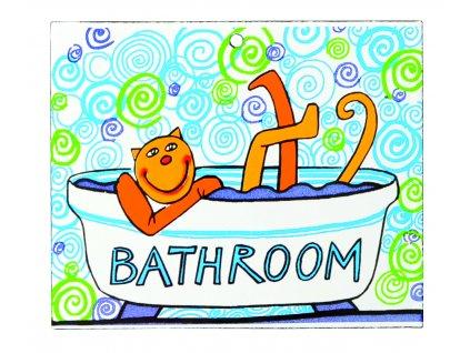 cedule koupelna