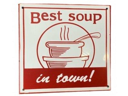 Smaltovana cedule polevka soup sign 3 removebg preview
