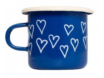Espresso hrnek smalt modry srdce removebg preview