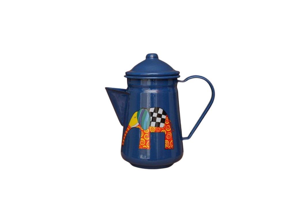 1047 coffee pot with elephant