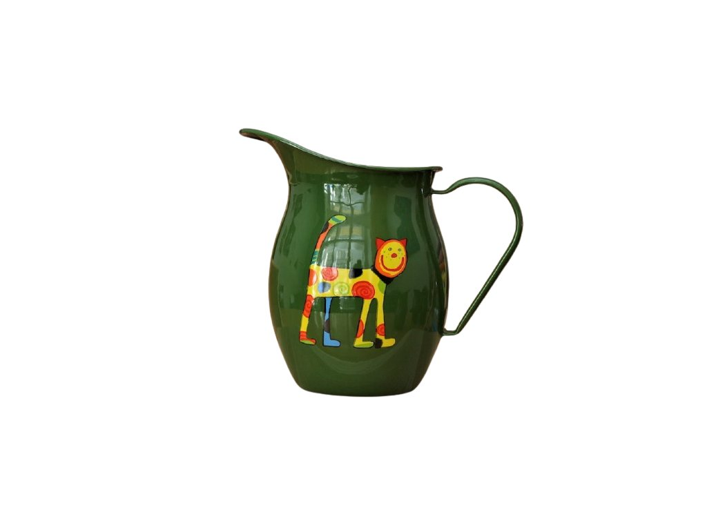 1158 pitcher with cat