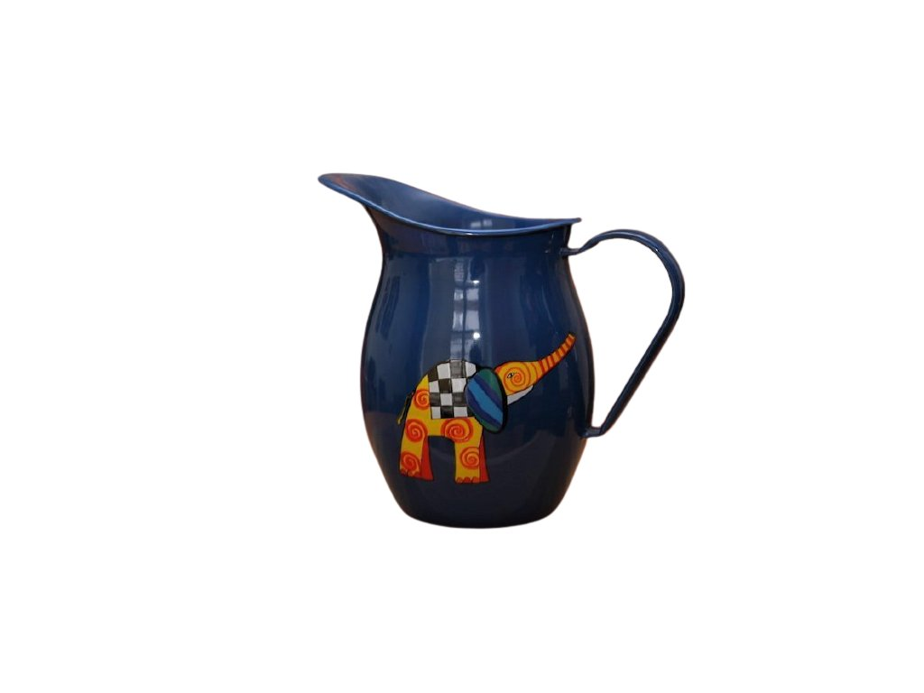 1188 pitcher with elephant with trunk up