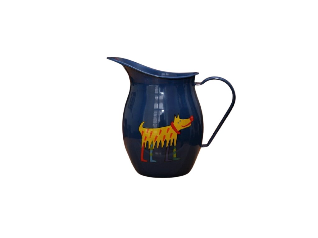 1191 pitcher with a dog