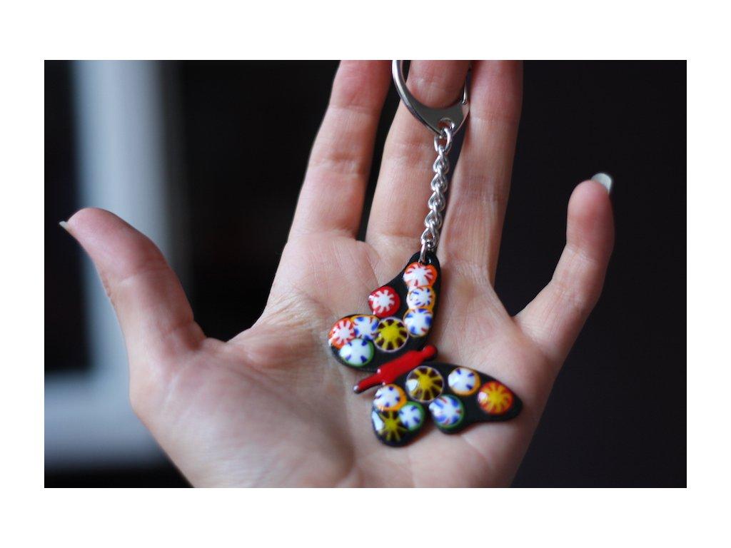 1272 keychain butterfly