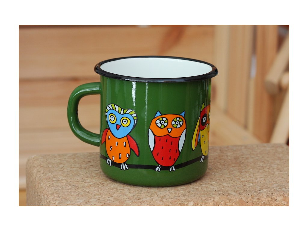 Mug with an owl