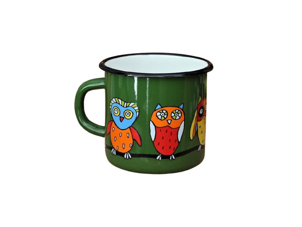 1308 mug with an owl