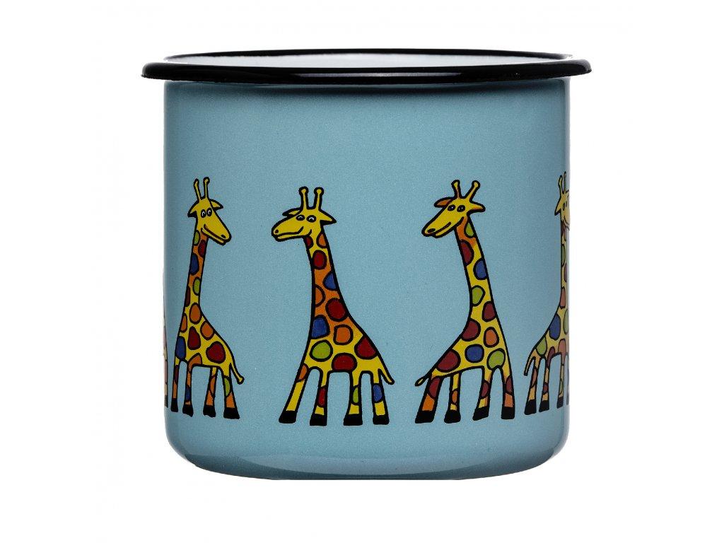 Mug with a giraffe