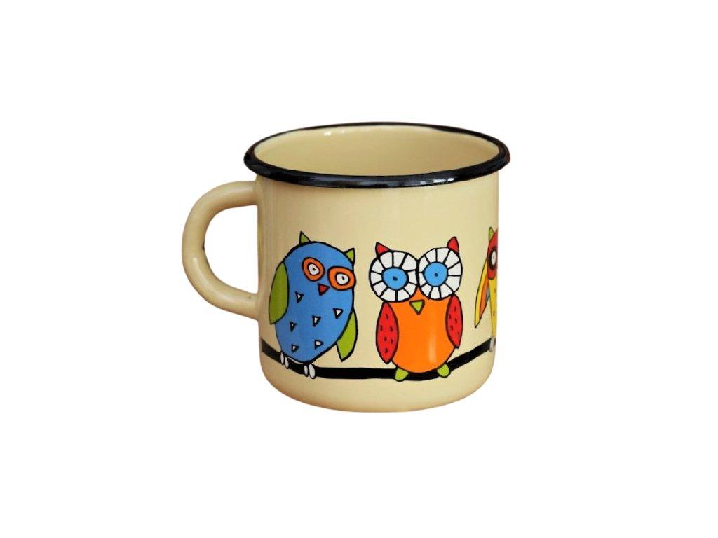 1422 mug with an owl