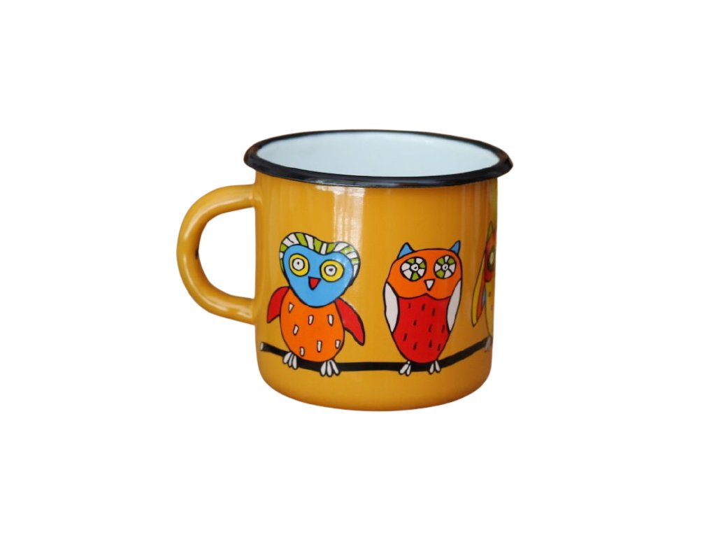 1497 mug with an owl