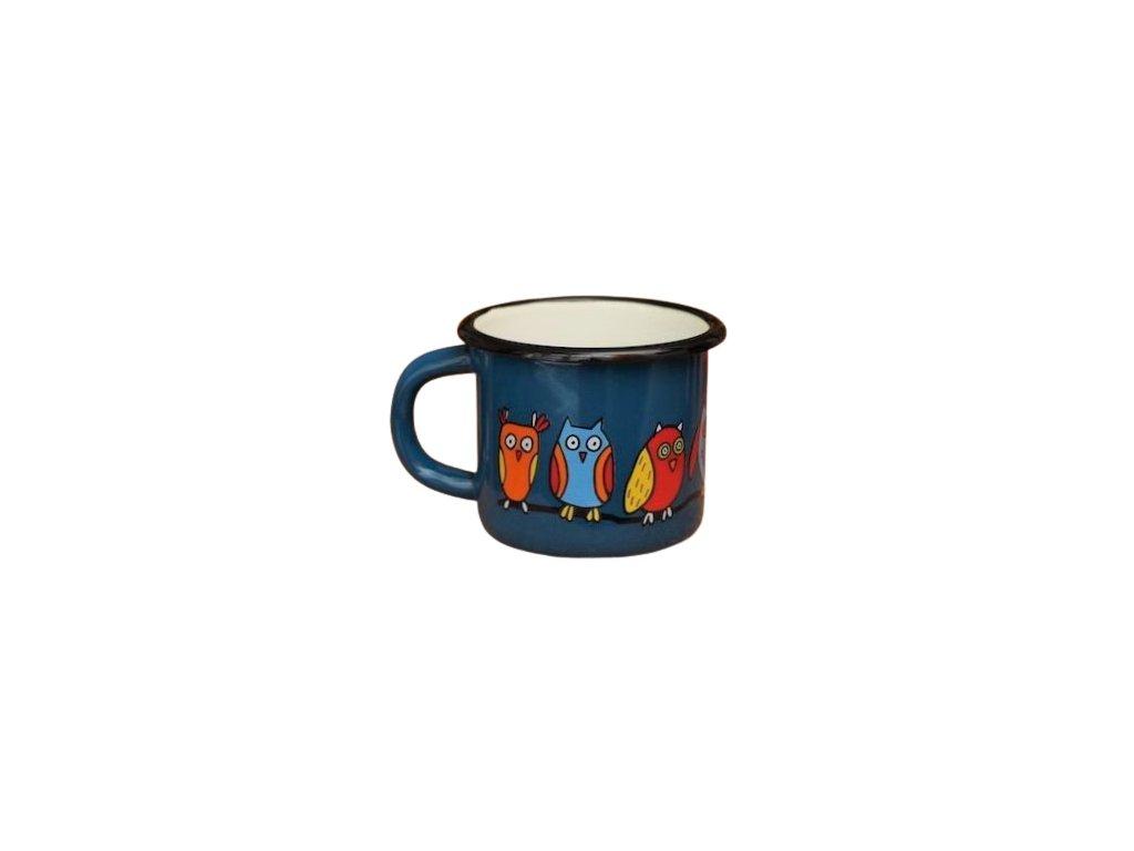 1545 mug with an owl