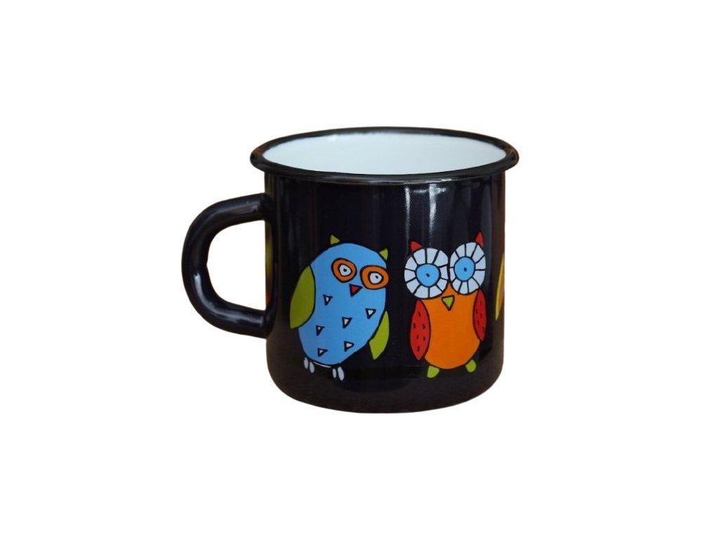 1569 mug with an owl
