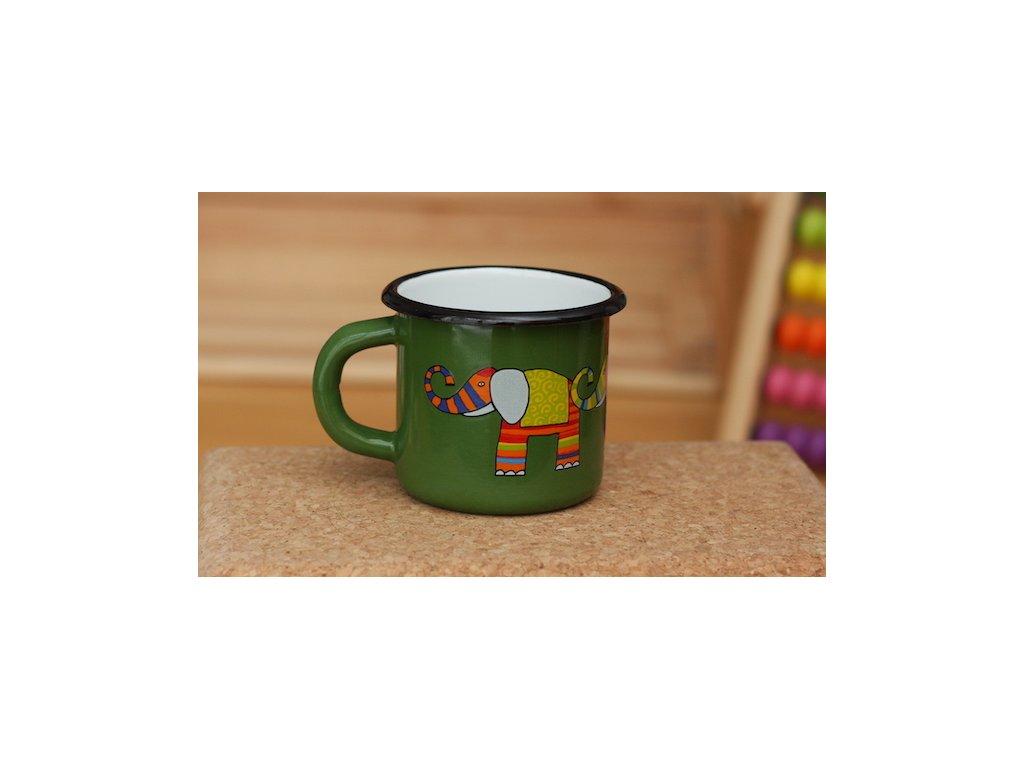 Hrnek se slonem / Mug with an elephant