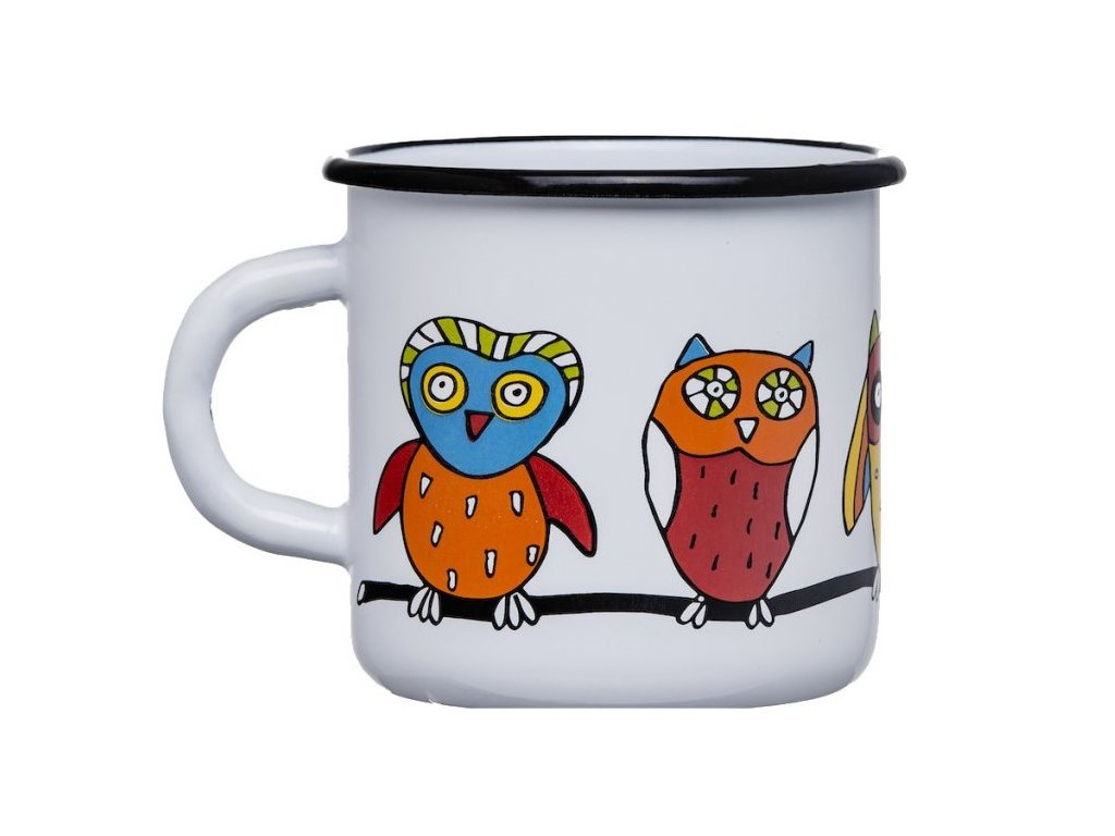 1665 mug with an owl