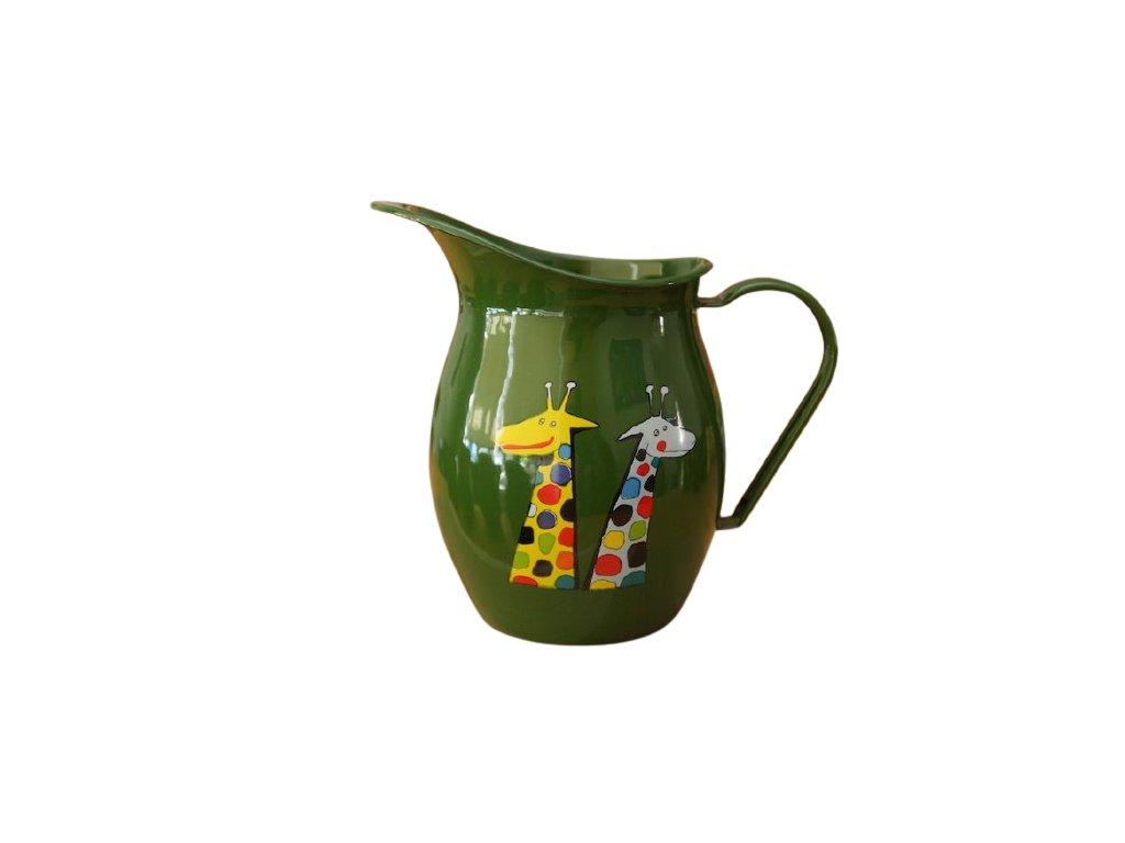206 pitcher with giraffe