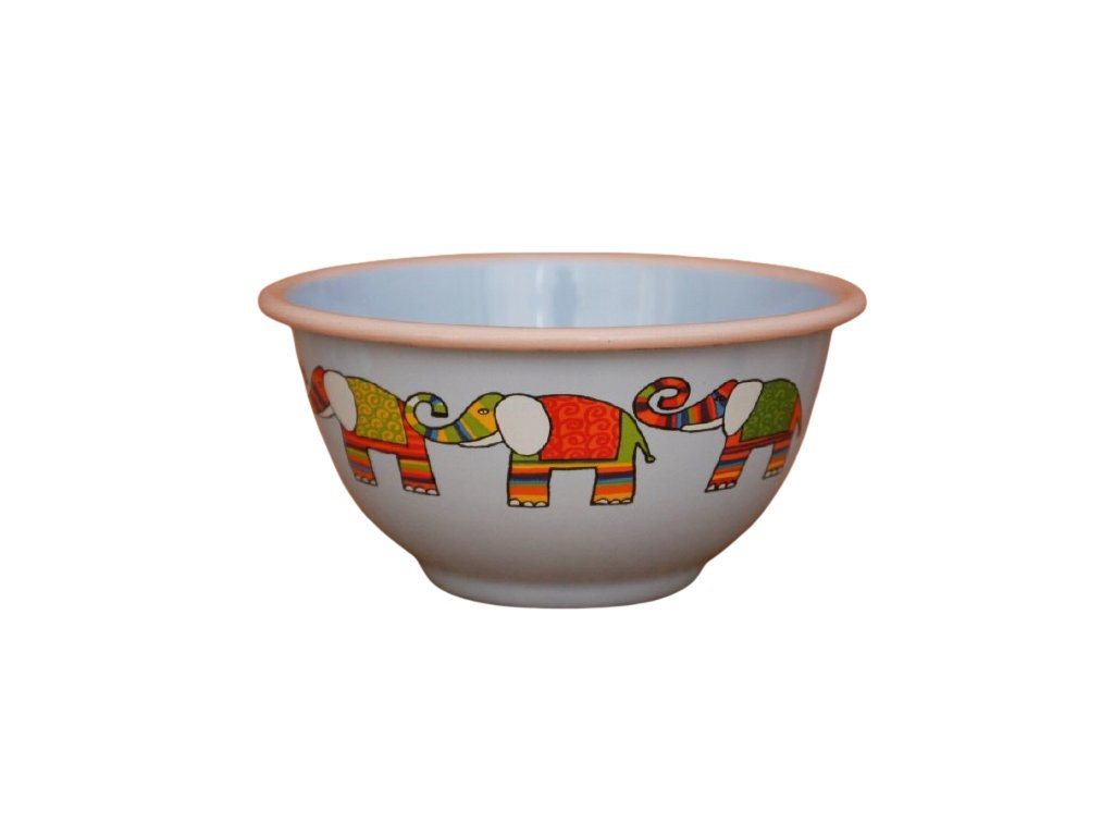 2222 blue bowl with elephant