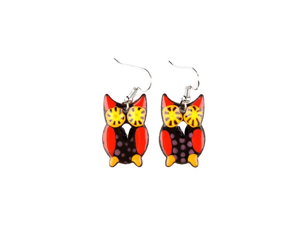 233 owl earrings