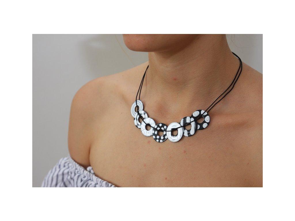 260 button necklace