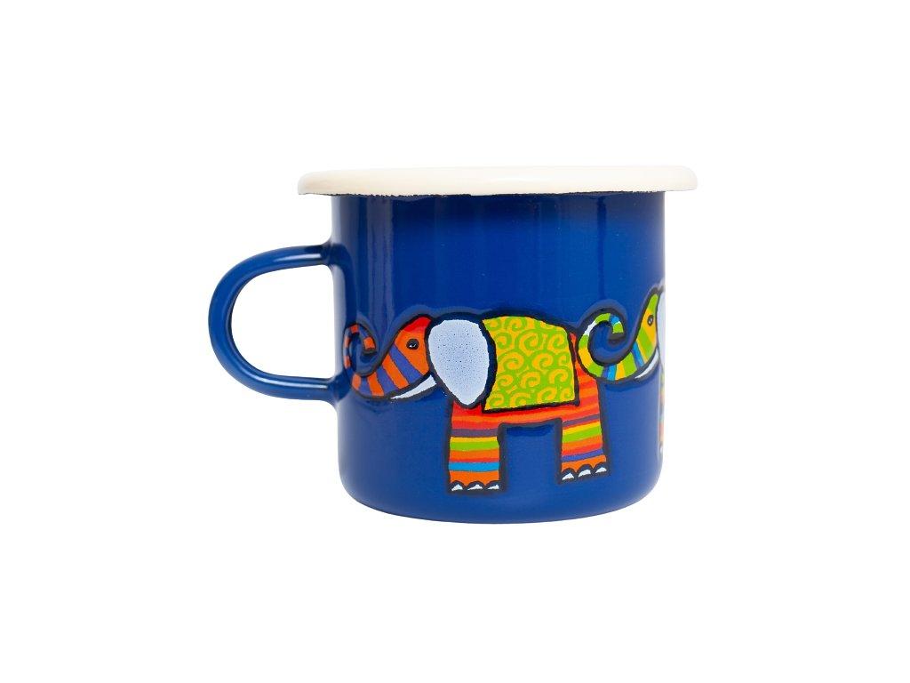 smaltovany espresso hrnek modry slon removebg preview