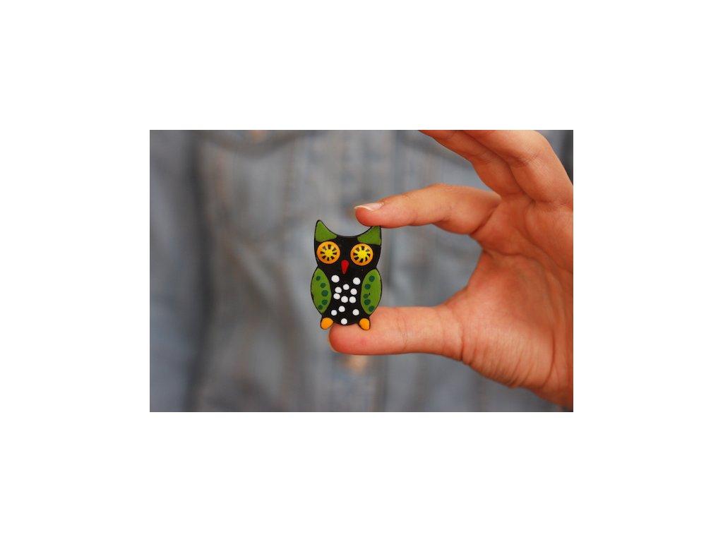 341 brooch owl