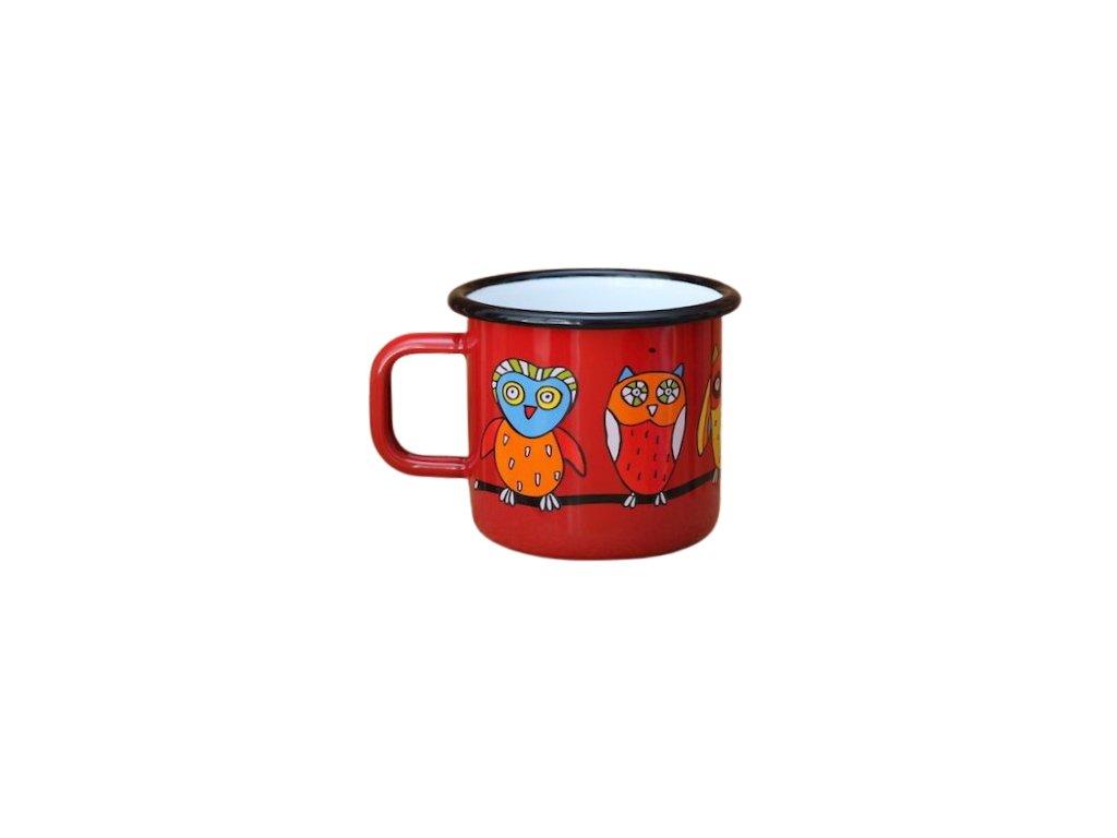 3608 mug with an owl
