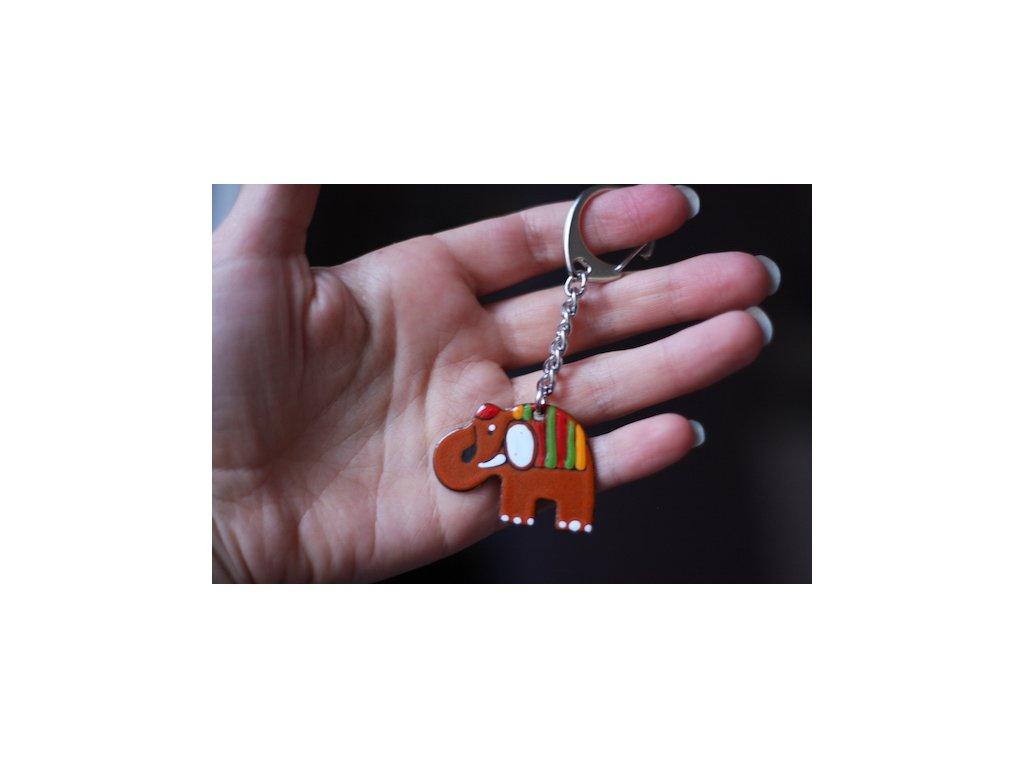 398 keychain elephant