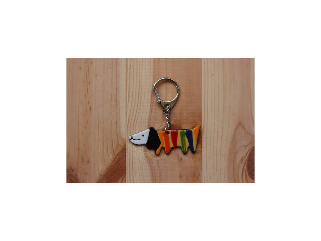 404 keychain dog