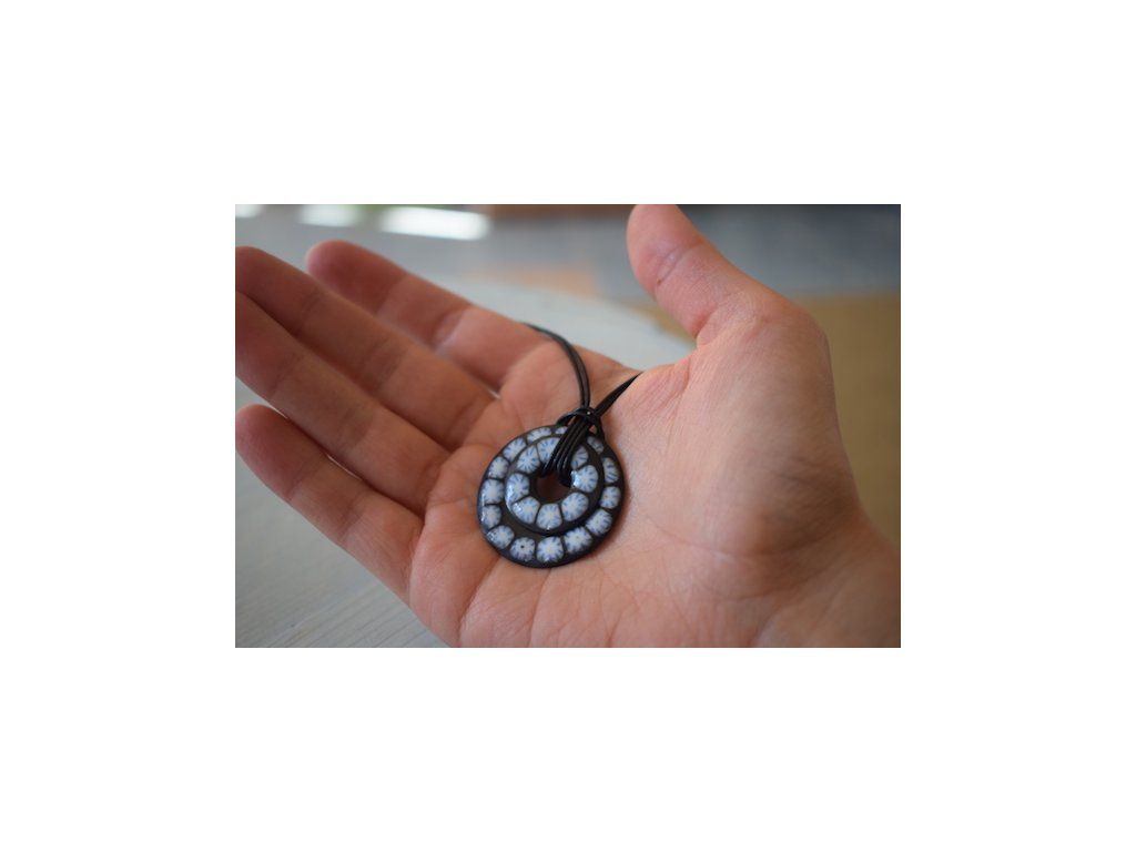 443 simple necklace