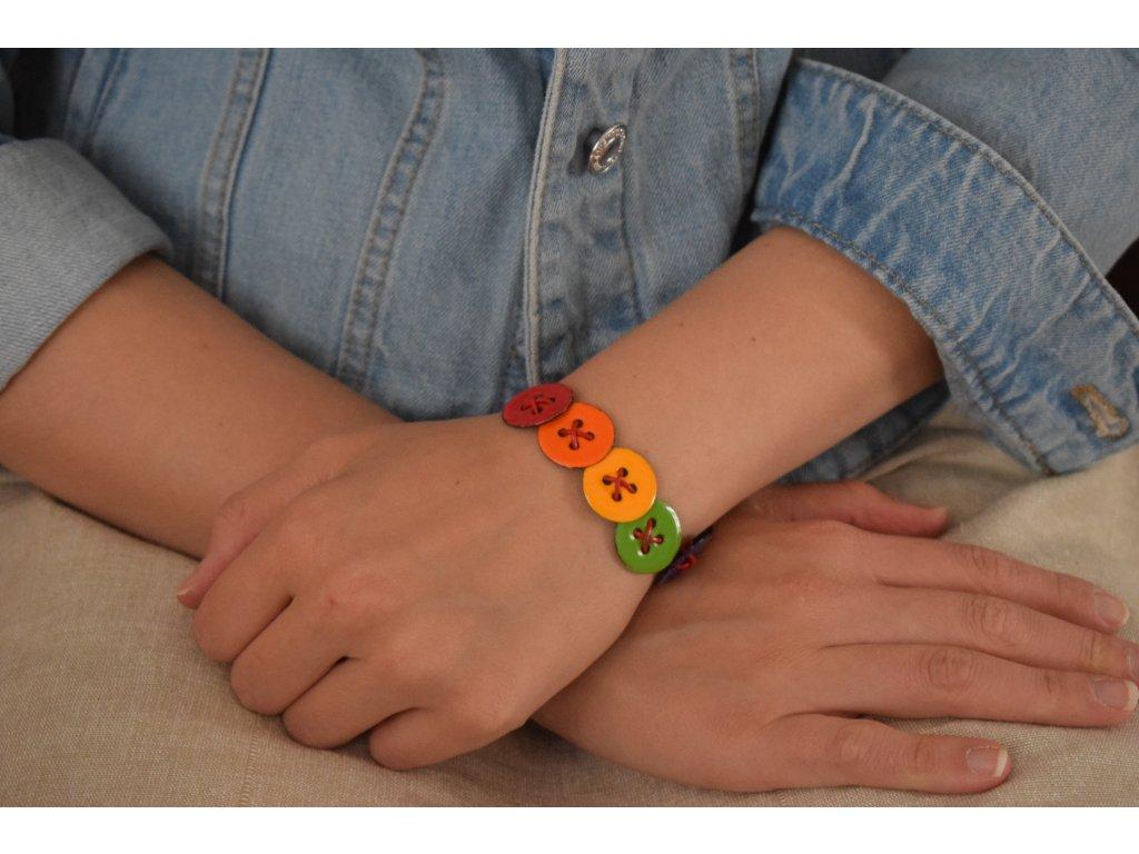 467 button bracelt