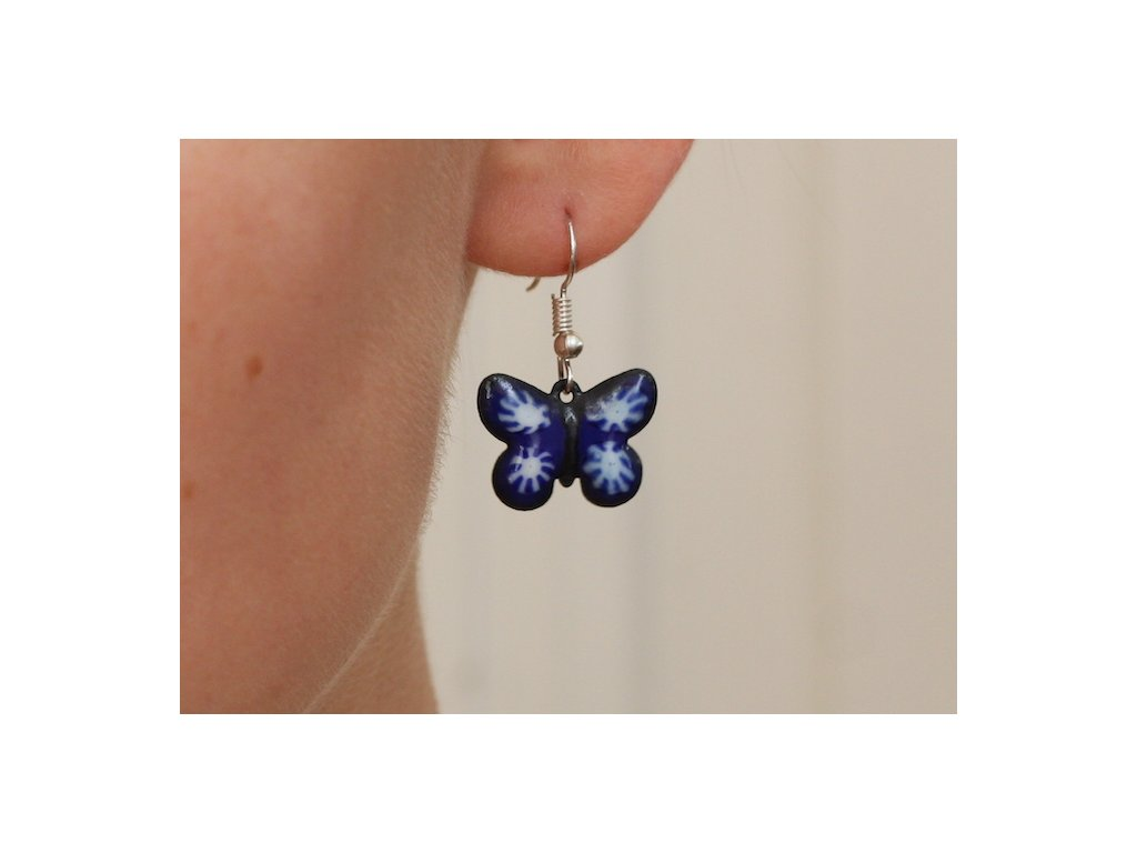503 butterfly earrings