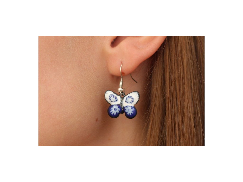 509 butterfly earrings