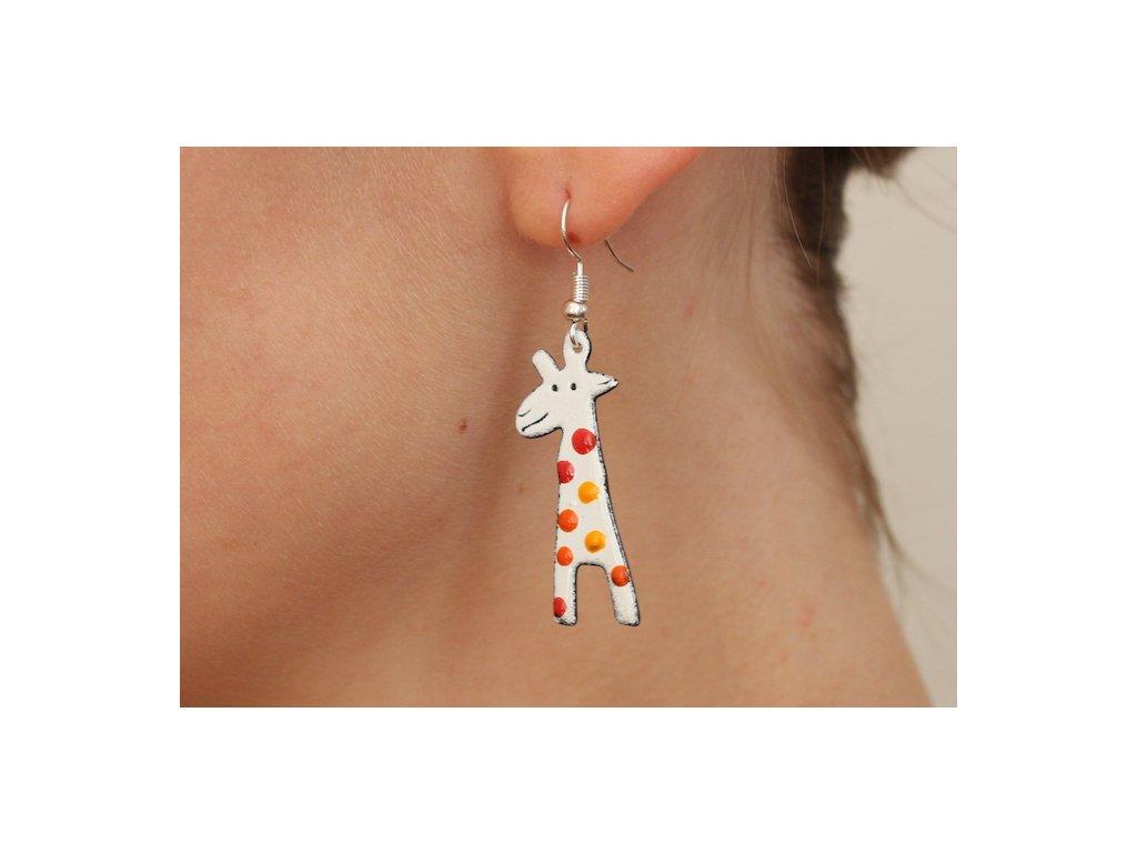 512 giraffe earrings