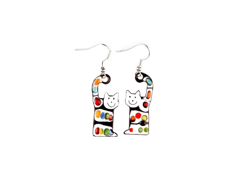 533 cat earrings