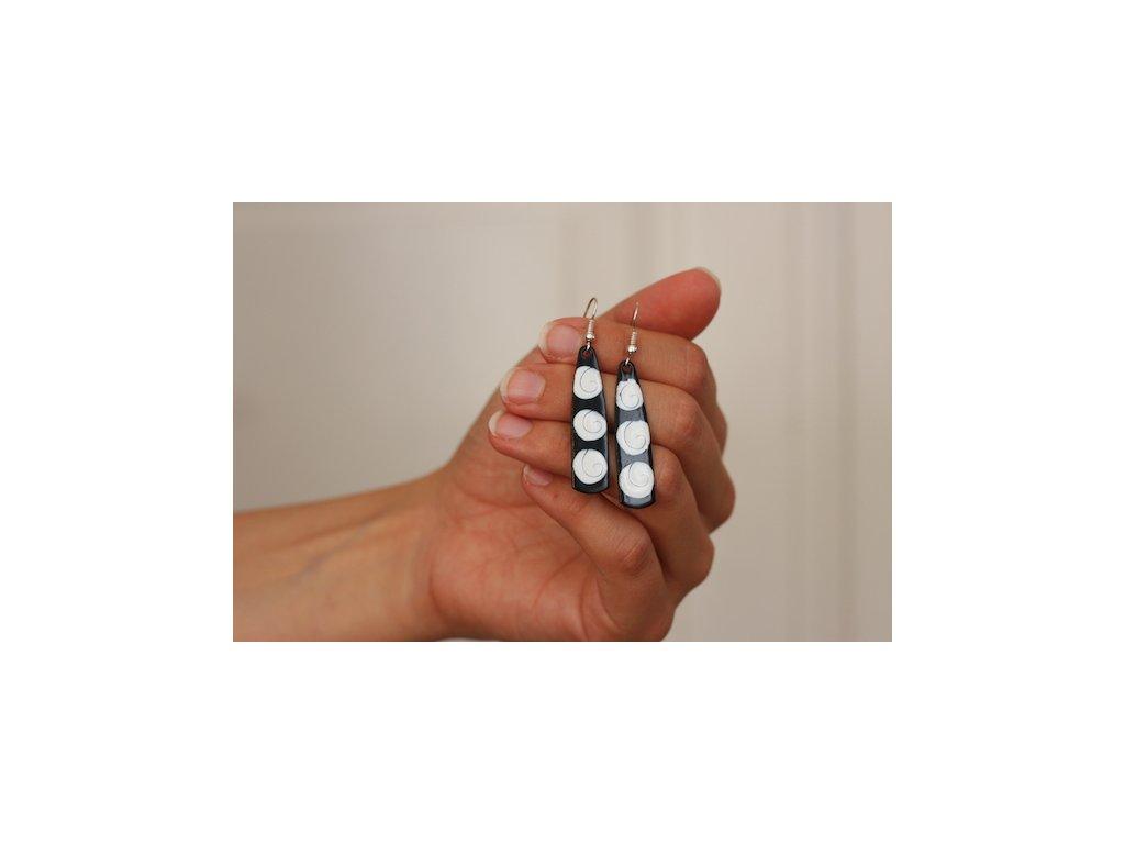 557 abstract earrings