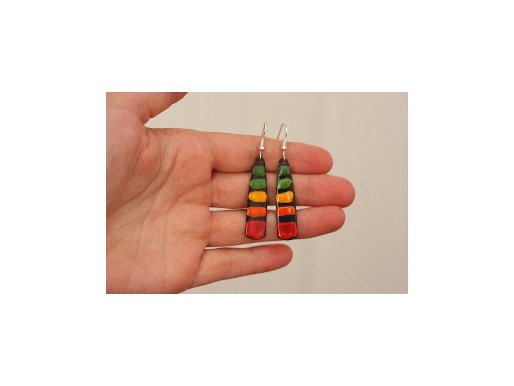 563 abstract earrings