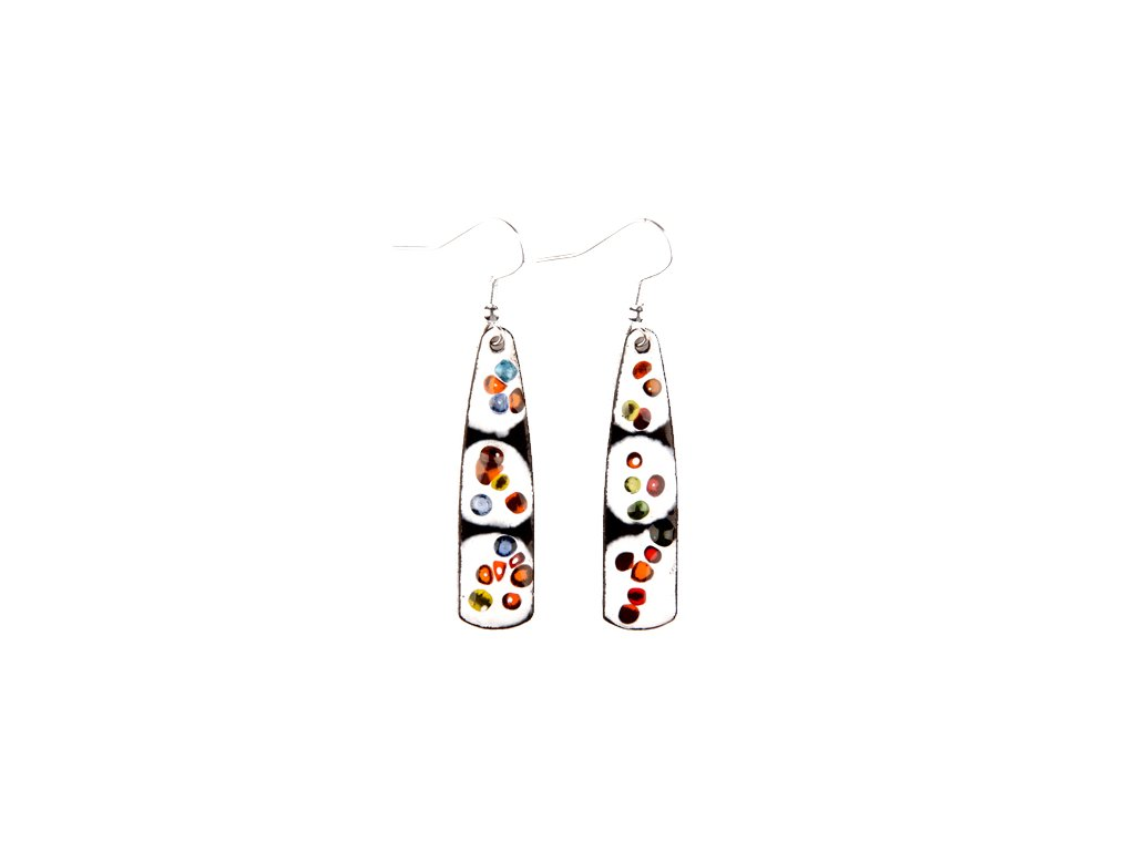 575 abstract earrings
