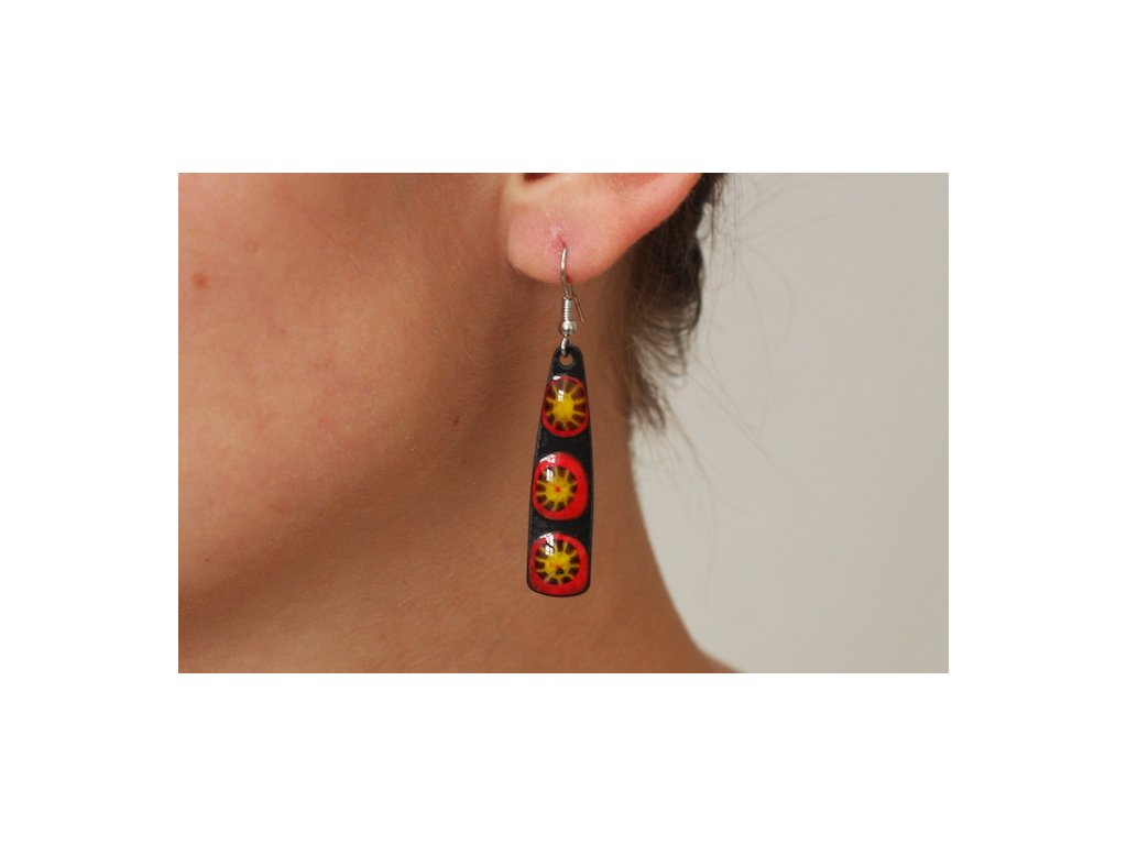 581 abstract earrings