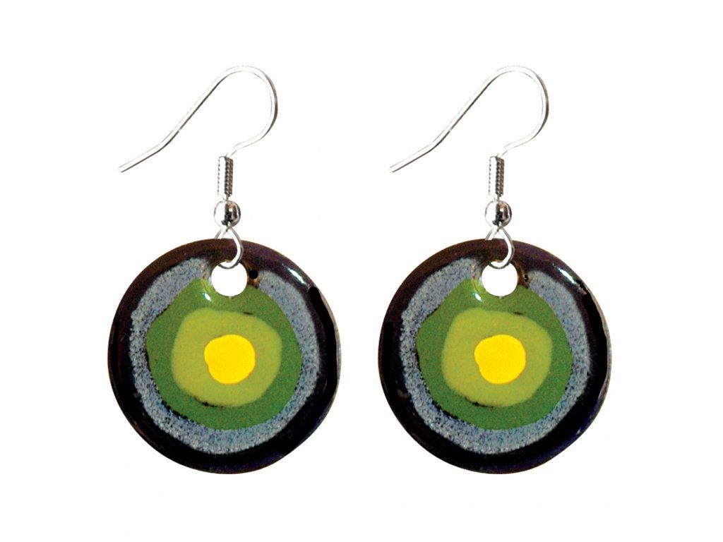 611 earrings simple