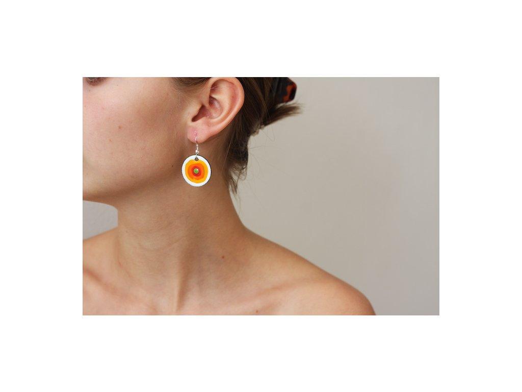 614 earrings simple
