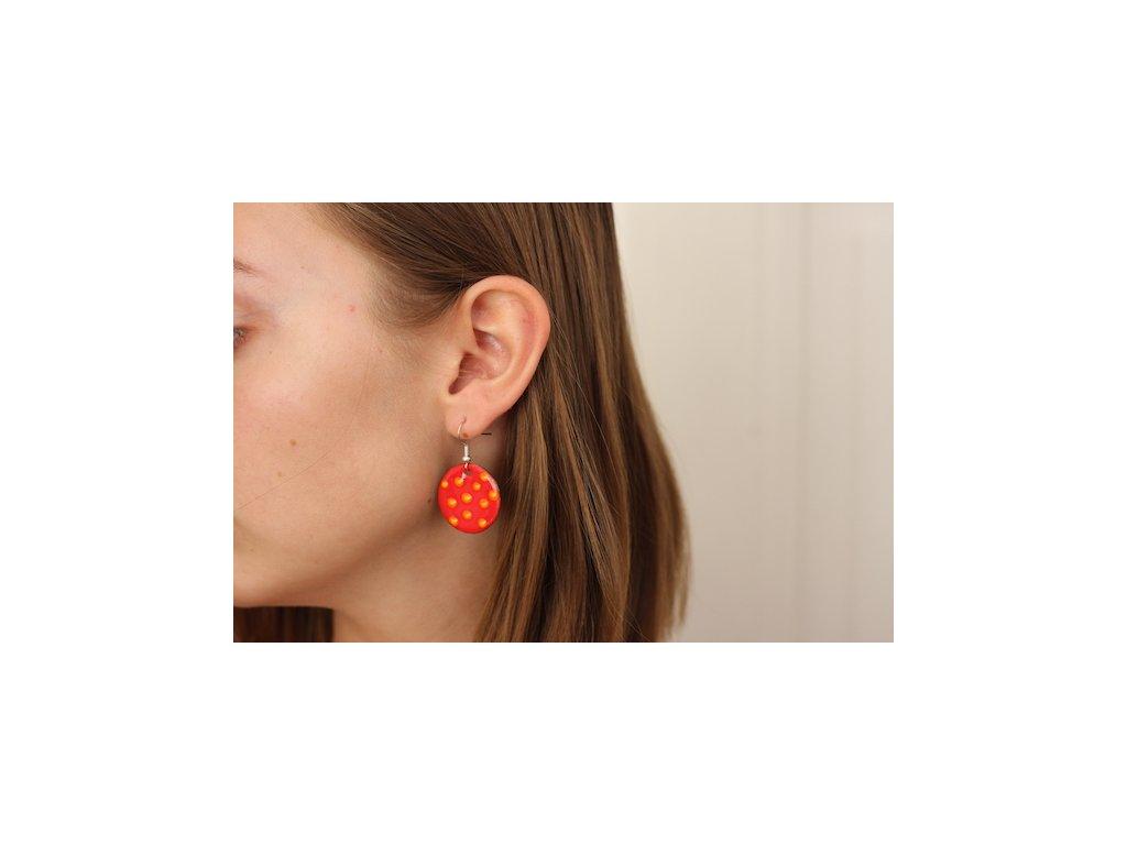 623 earrings simple