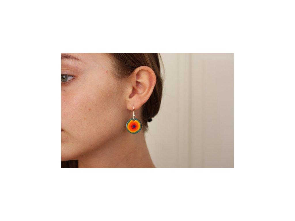 629 earrings simple