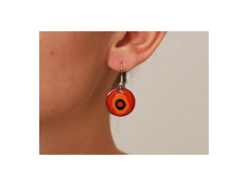 632 earrings simple