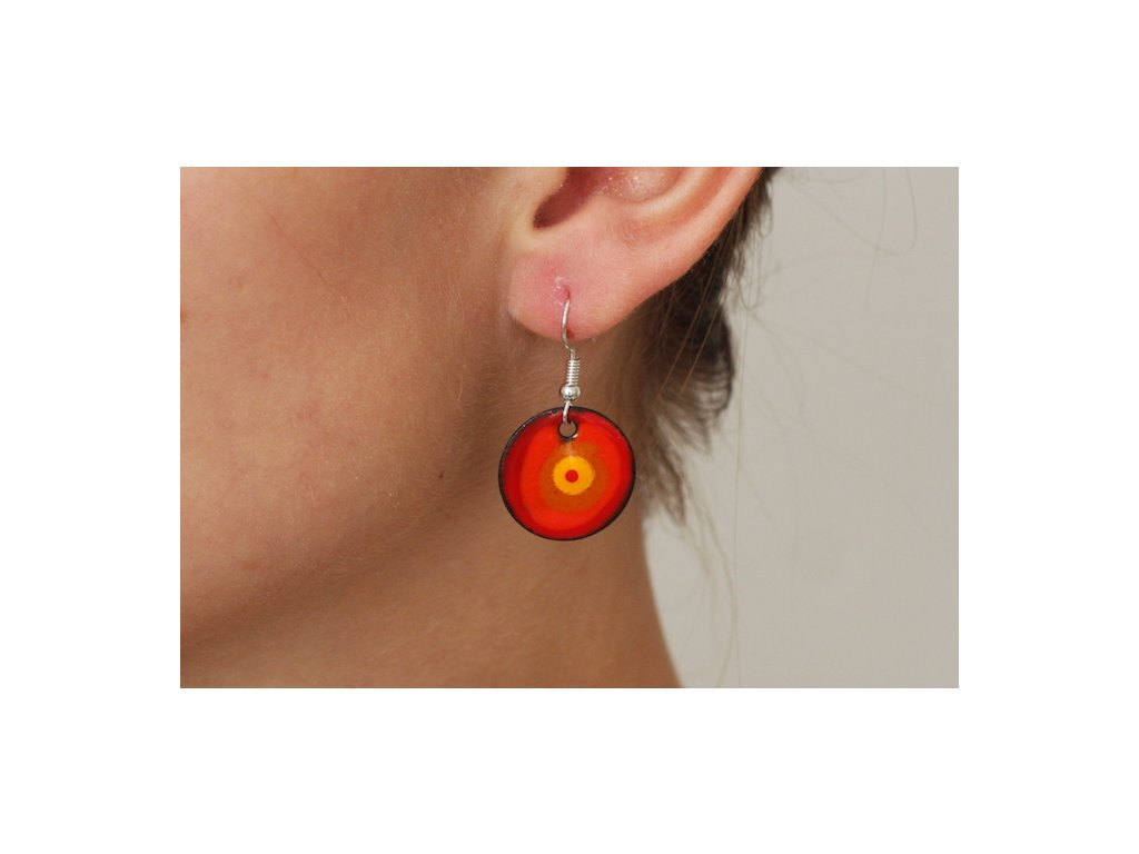 635 earrings simple