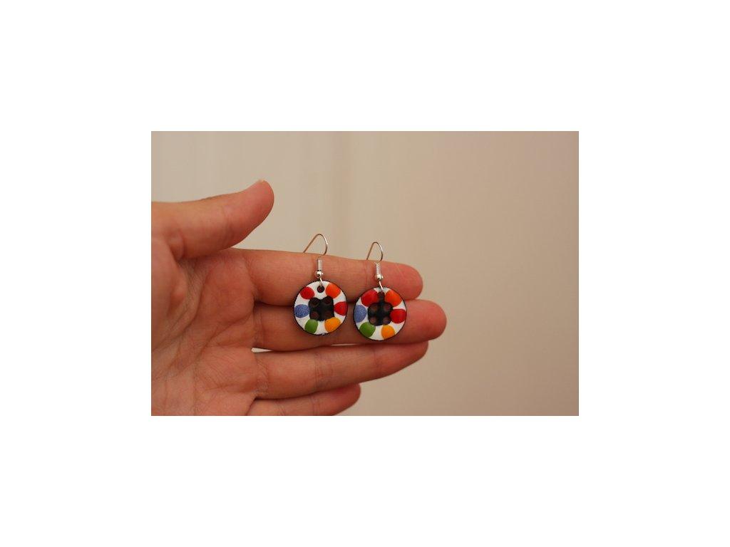 638 earrings simple