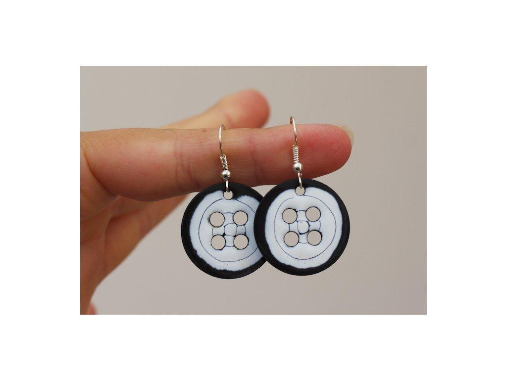 Náušnice - jednoduchá / Earrings - simple